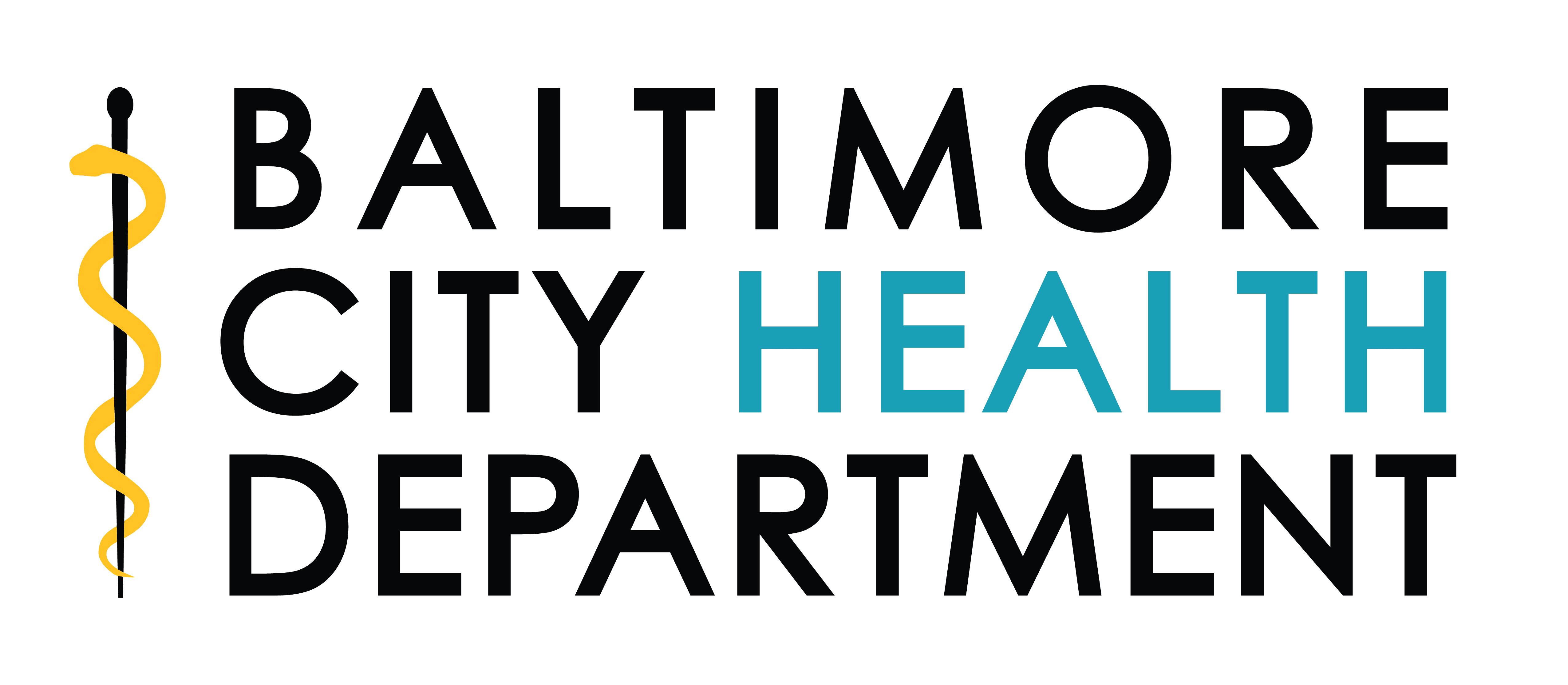 Logo for Baltimore City Health Department