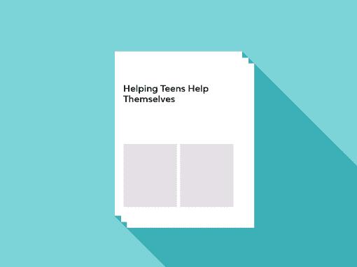 Helping Teens Help Themselves